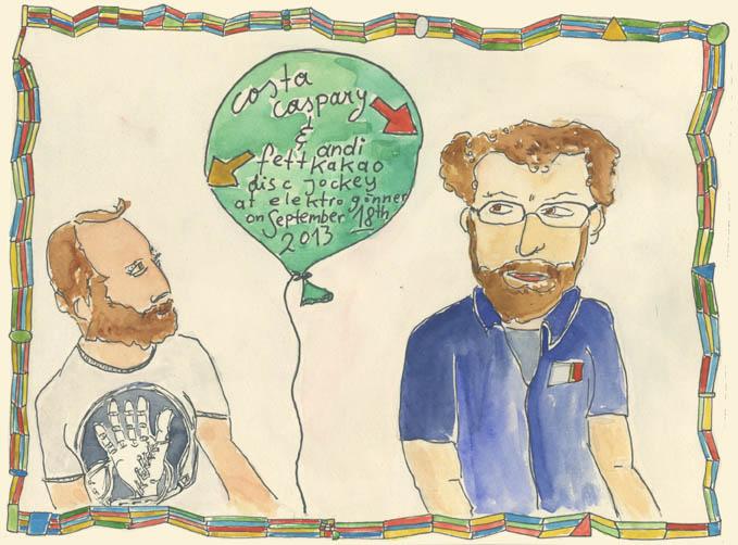 Costa Caspary & Andi Fettkakao DJ at elektro Gönner