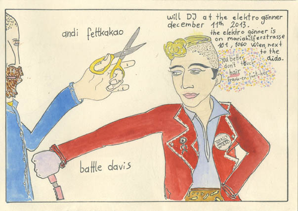 Battle Davis & Andi Fettkakao
