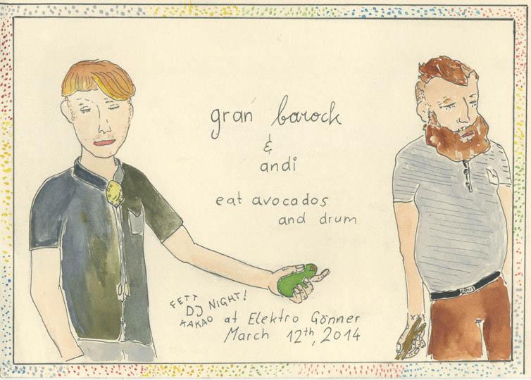 Gran Barock & Andi Fettkakao DJ Night