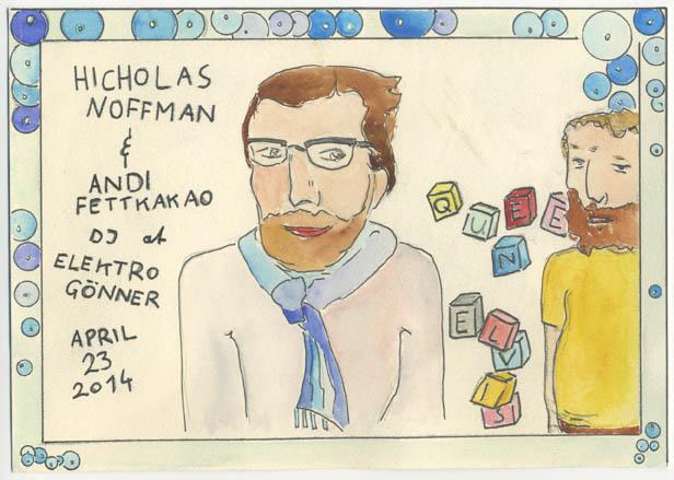 Hicholas Noffman & Andi Fettkakao