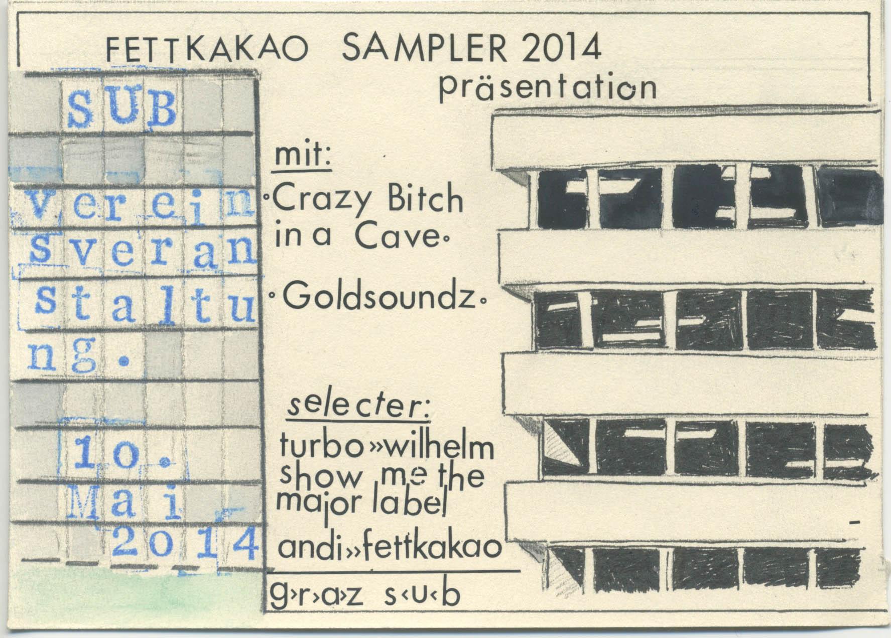Fettkakao Sampler 2014 präsentation    Graz