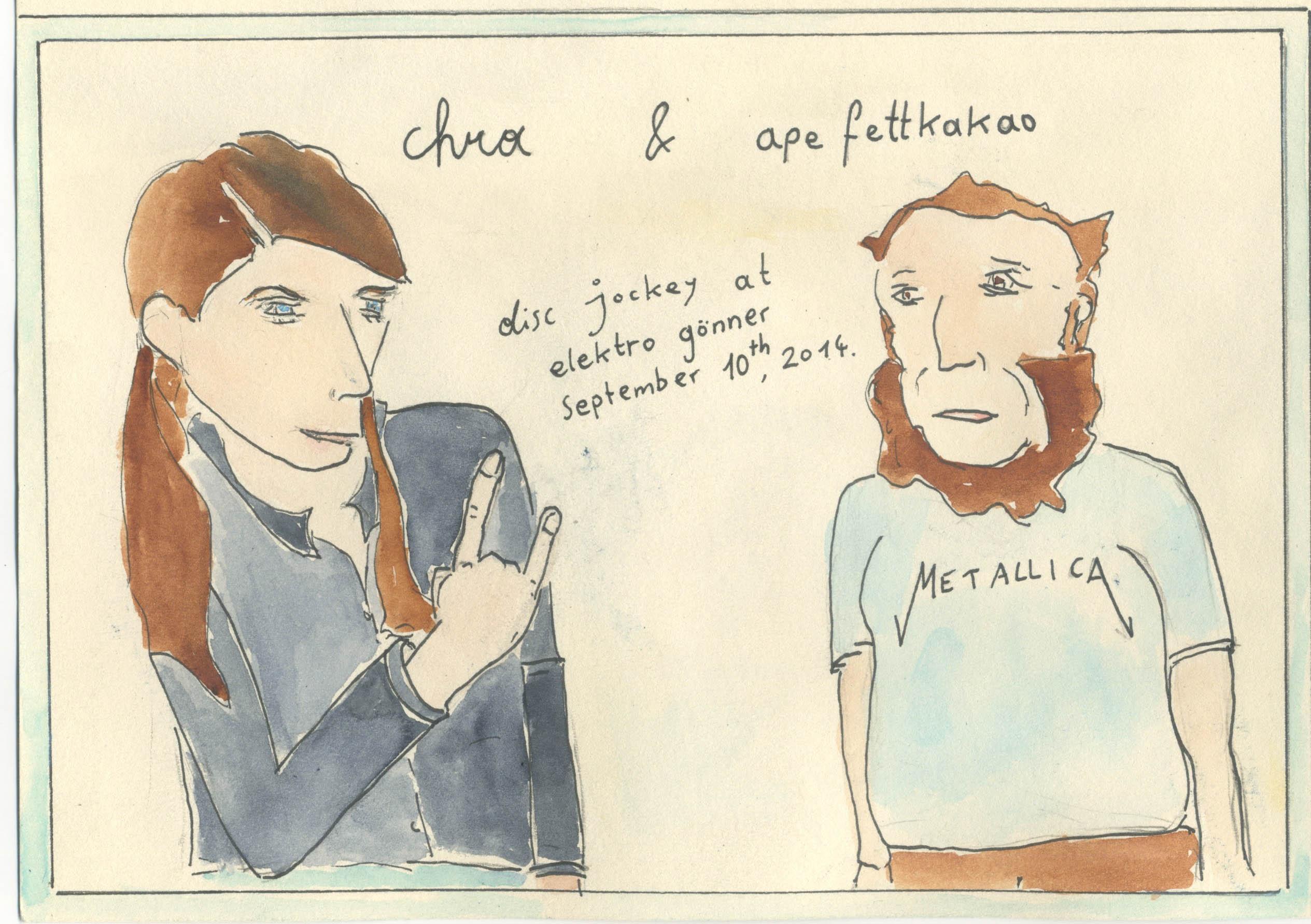 Chra & Ape Fettkakao