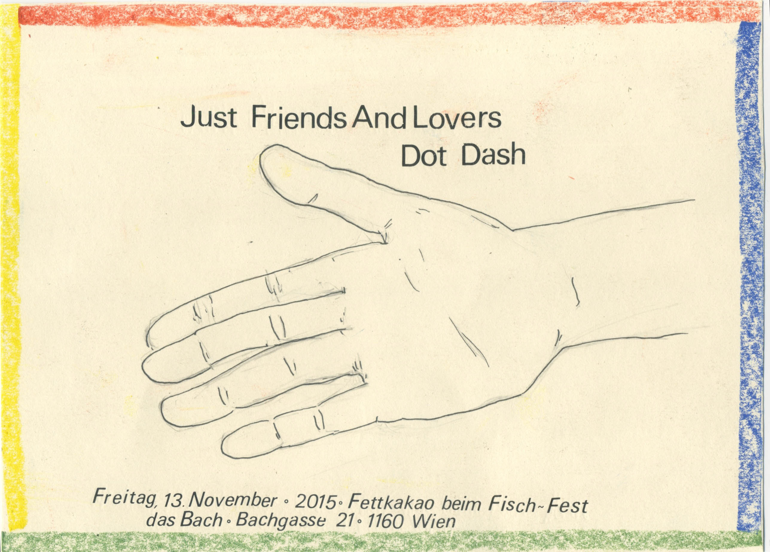 Just Friends and Lovers & Dot Dash at Fisch-Fest