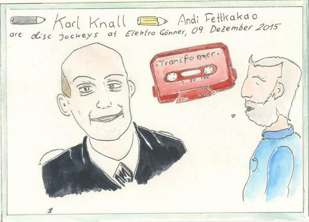 Karl Knall & Andi Fettkakao
