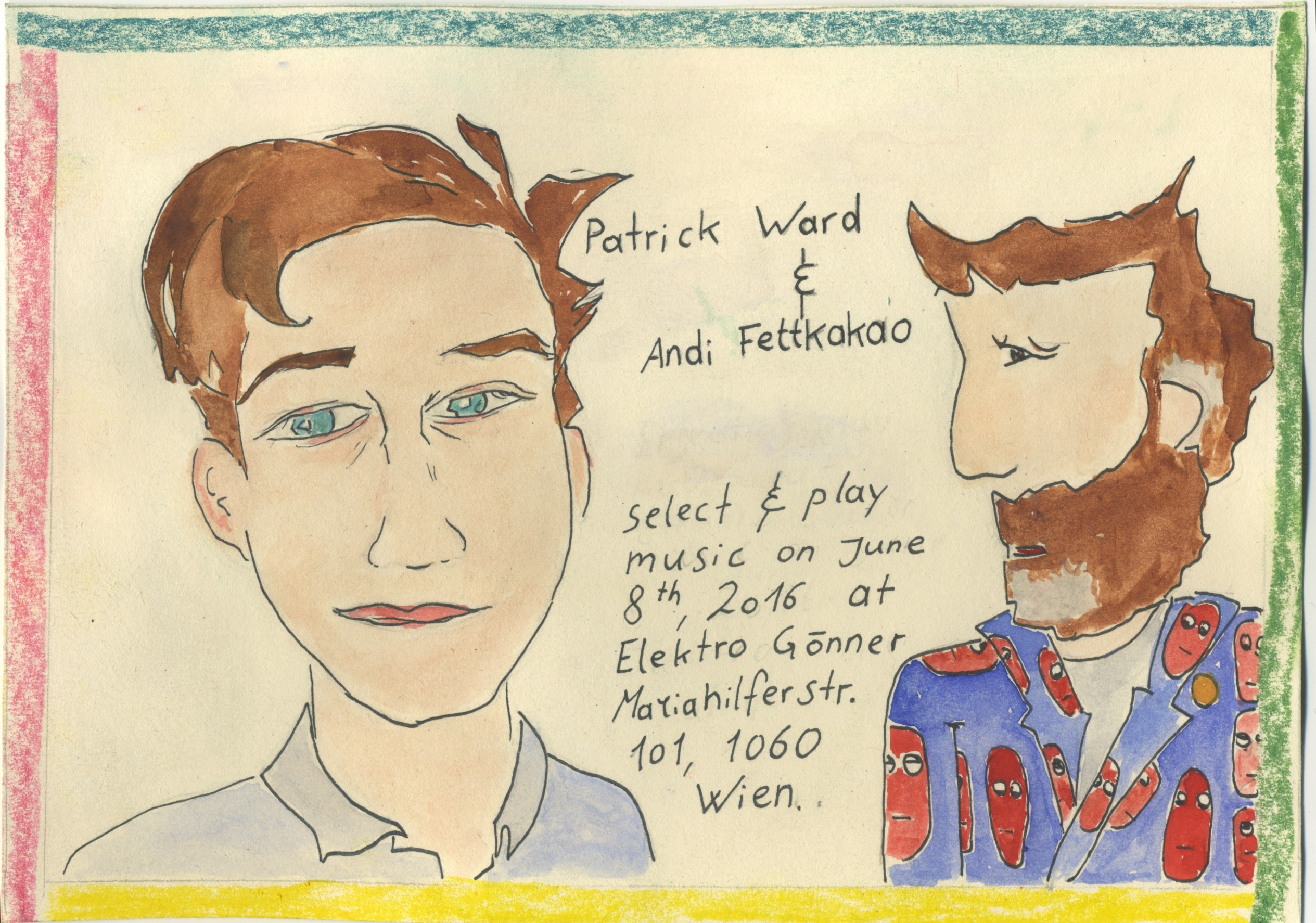 Patrick Ward & Andi Fettkakao