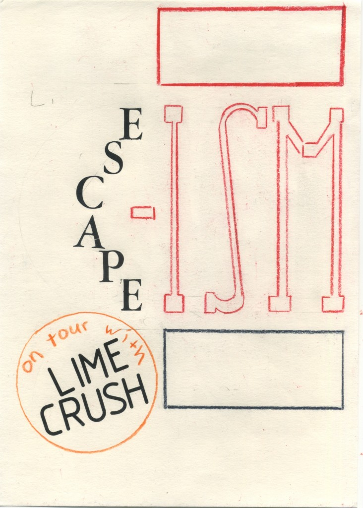 Lime Crush _ Escape-Ism _TOURPOSTER 19