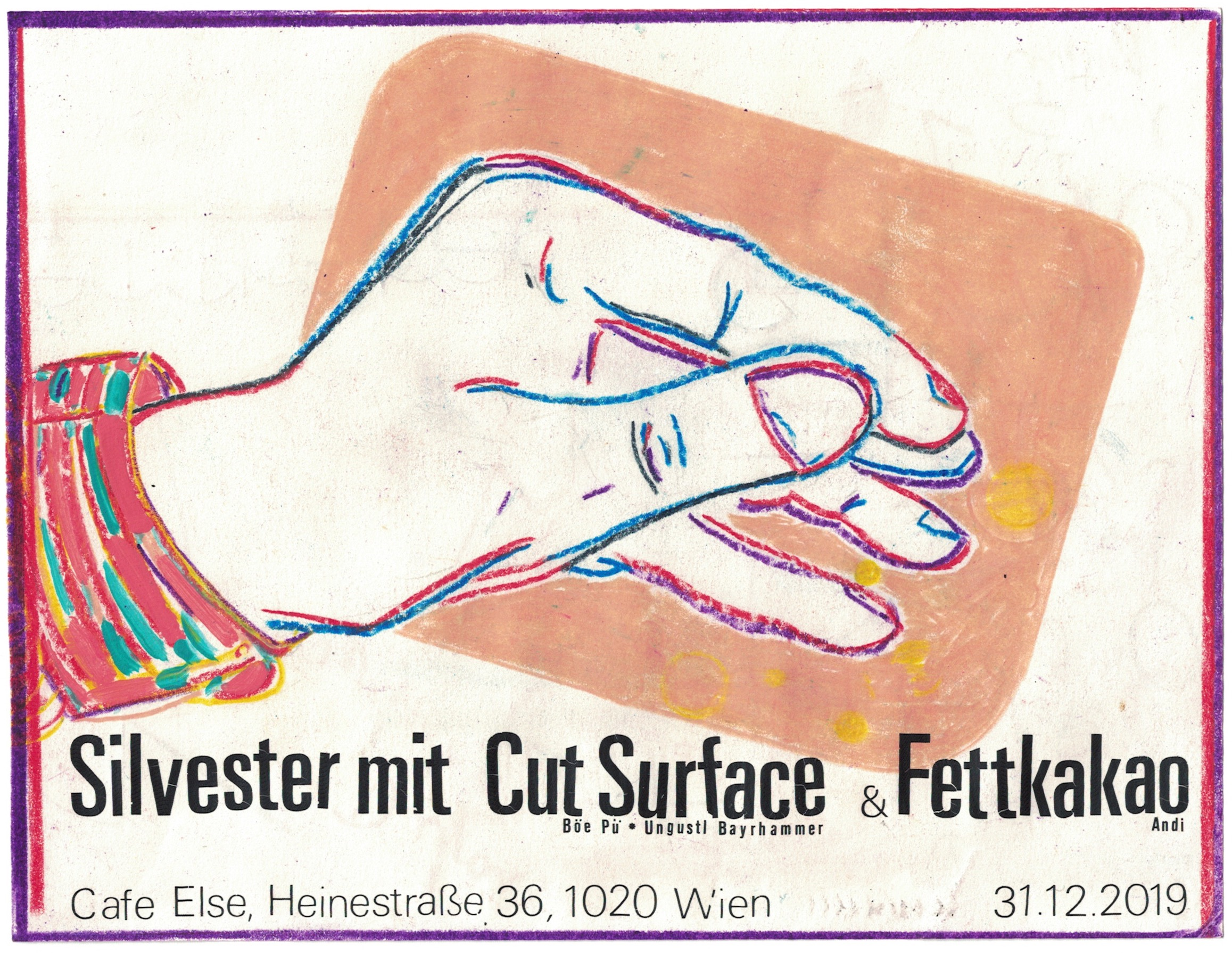 Silvester 2019 w Cut Surface